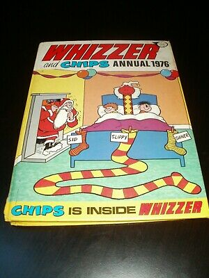 Whizzer And Chips Annual 1976 Vintage Book Retro (rare)