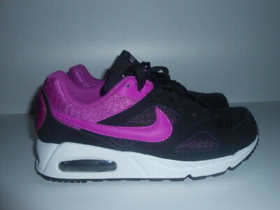 Nike Air Max Running Trainers Black & Pink Size Uk-6 / Eu-40 / New