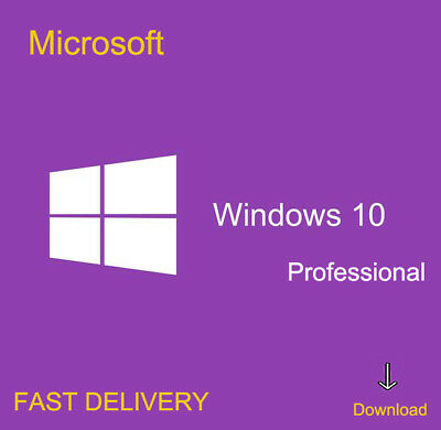 Activation Windows 10 Pro edition 64/32 bit Genuine key Lifetime license Promo