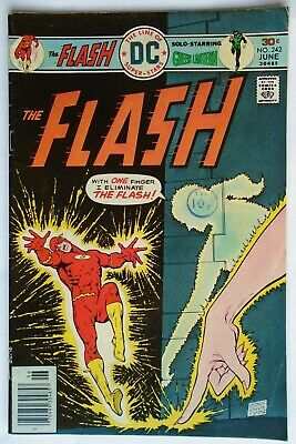The Flash Vol 1 #242 June 1976 (Fn)