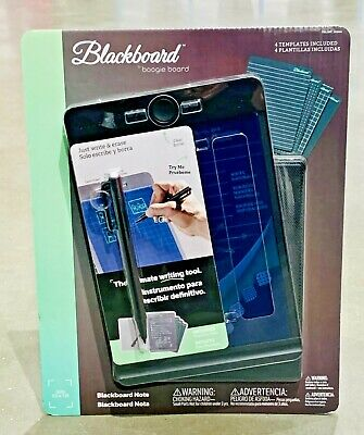 Boogie Board Drawing Tablet Blackboard Note & Folio With Stylus & 2 Templates