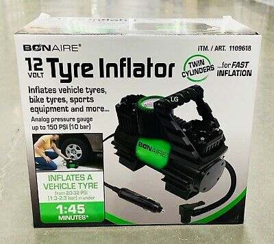 Bon Aire 12V Air Tyre Inflator - Model TC12CUK