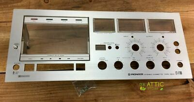 PIONEER CT-F700 Cassette Deck Parts - Face Plate Overlay with Door