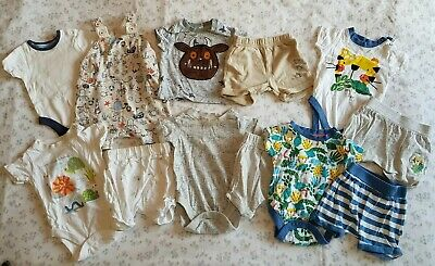 Boys Summer Outfits Bundle 0-3 Months Mothercare, George & TU