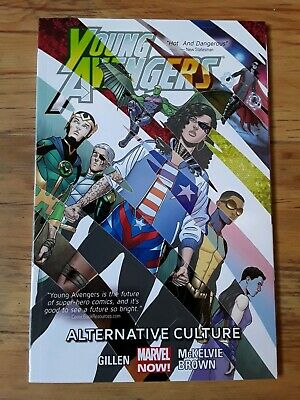 YOUNG AVENGERS Alternative Culture TPB graphic novel