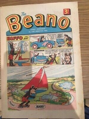 BEANO Comic #1181, March 6th 1965