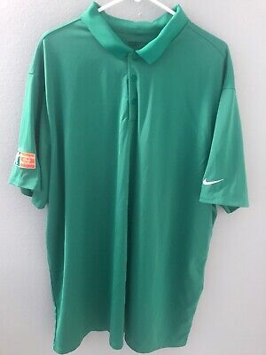 Nike Golf Dri-Fit Holiday Inn Club Vacations Polo Mens 3XL Green