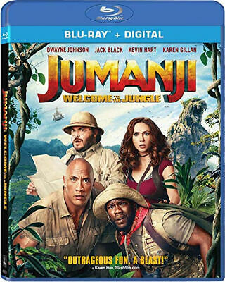 Jumanji: Welcome to the Jungle Blu-Ray Jack Black