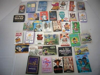 Collection Of 37 Disney Pins