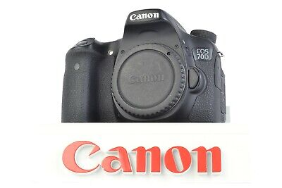 Canon EOS 70D 20.2MP Digital SLR Camera (Body Only) Shutter Count: 16,872 #P0902