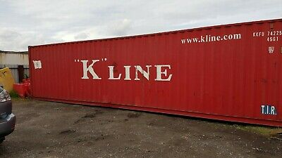 40Ft Used High Cube Shipping Containers (Immingham)