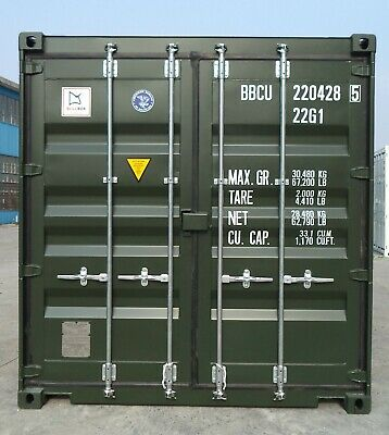 20Ft New Shipping Container - Single Trip