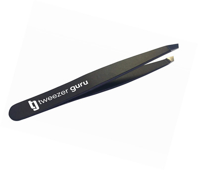 Slant Tweezers - TweezerGuru Professional Stainless Steel Tip Tweezer - The Best