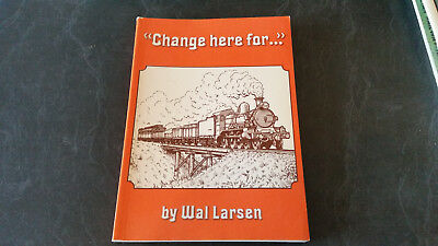 change here for ... railways trains book