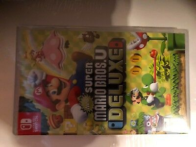 Brand New Factory Sealed Nintendo Switch Game Mario Bros U Deluxe Brothers