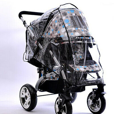 Baby Trend Rain Wind Snow Sleet Plus Size Cover for Single Jogger Stroller