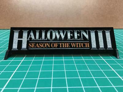 Halloween III Season of the Witch Poster design Prop Display plate