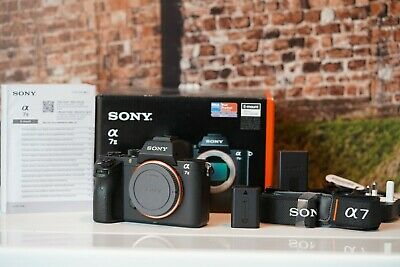 Sony Alpha A7 II 24.3MP Digital Camera - Black (Body Only) shutter count 5315