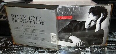 "BILLY JOEL.  ""GREATEST HITS Vol 1 & Vol II""  2CD SET. FATBOX. UK . EX COND."