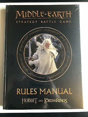 The Lord of the Rings Middle earth Strategy Battle Game Rule book / rules manual