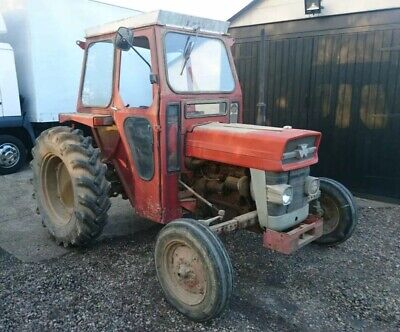 Massey Ferguson 135 CAB (QD ?) For Tractor (CAB ONLY, TRACTOR NOT INCLUDED)