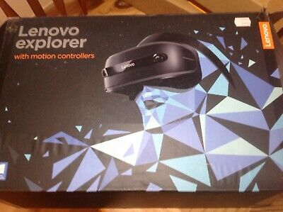 Lenovo Explorer Windows Mixed Reality Headset and Controller Bundle