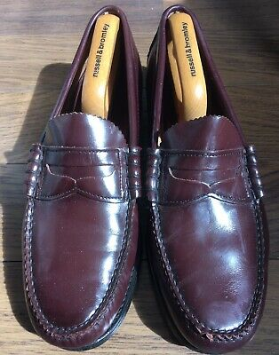 638feca14 VINTAGE DEXTER PENNY Loafers Handsewn made in USA 10 EEE -  75.00 ...