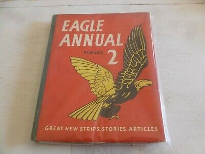EAGLE ANNUAL - Number 2 - Date 1952 - UK Comic Annual