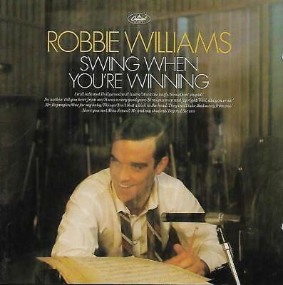 Robbie Williams - Swing When You're Winning (2001 CD Album)