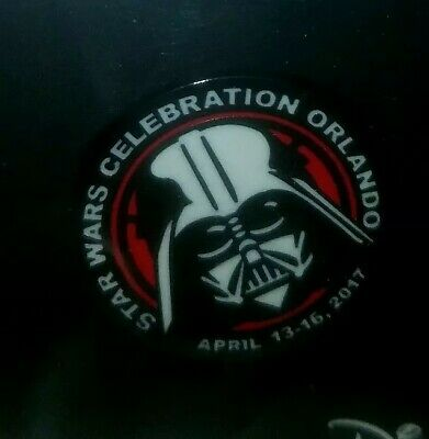 Star Wars Celebration Orlando 2017 LE 40th Anniversary DARTH VADER Lapel Pin