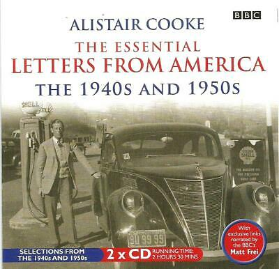 Alistair Cooke -The Essential Letters From America:1940s And 1950s (2CD 2007)