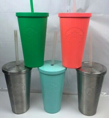 STARBUCKS Matte Stainless Steel Tumbler Cold Cup 16 fl oz  Various Color 2 Choos