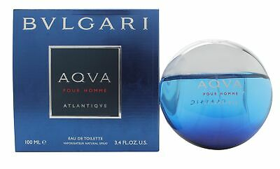 Bvlgari Aqva Atlantiqve By Bvlgari 34 Oz Eau De Toilette Spray New