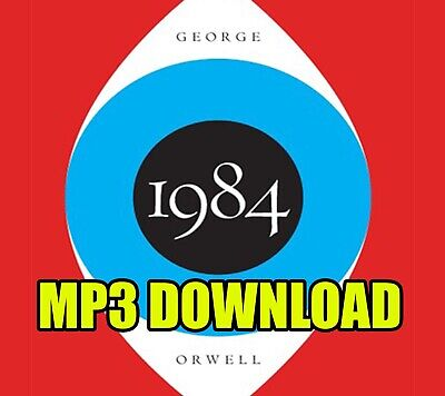 1984 by George Orwell MP3 CD Audio Book Digital Download