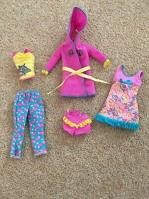 Barbie Sleepover Set Dolls Outfit