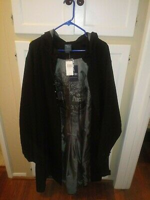 Hot Topic Harry Potter SNAPE Always Wizard Robe Cosplay Hooded NWT Wizarding 2X