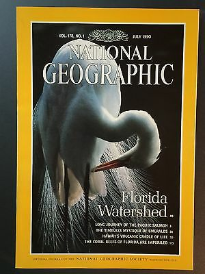 National Geographic - July 1990 Vol 178, No 1; Florida Watershed