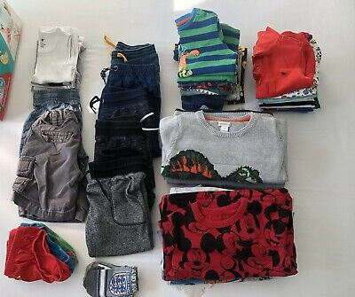 Bundle Of Boys Clothes - Age 3-4 Years