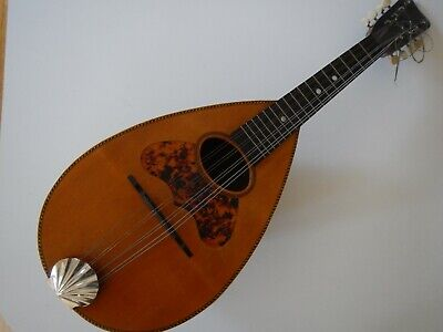 Antique Bowl Back Mandolin Improved Columbia VG Cond.