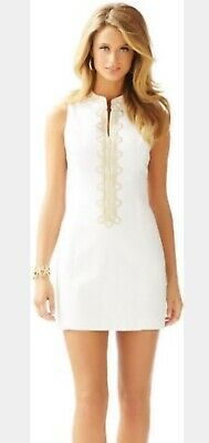 3d00579547e293 NWOT DEFECT LILLY Pulitzer Alexa Shift Resort White 6 $188 - $46.00 ...