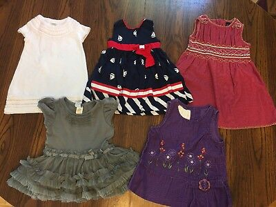 6250dd4db41c LOT OF BABY Gap Infant Toddler Girl's Spring Summer Clothes Dresses ...