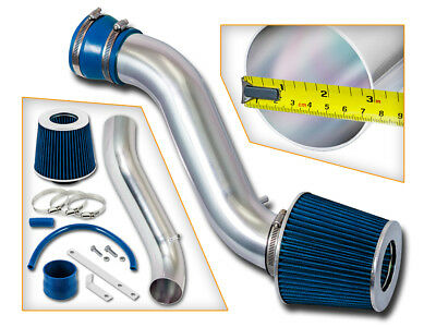 Ram Air Intake Kit + BLUE Dry Filter for 93-98 Jeep Cherokee 5.2L 5.9L V8 Engine