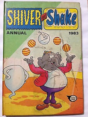SHIVER AND SHAKE Annual 1983. Good Condition For Age **Free UK Postage**