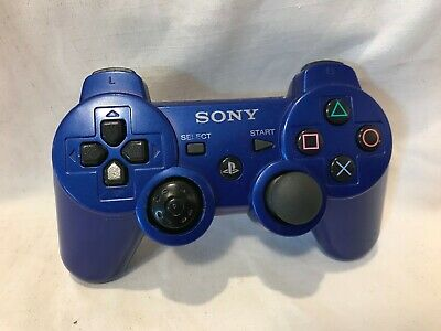 Sony OEM Metallic Blue PS3 Dualshock 3 Wireless Controller For PlayStation