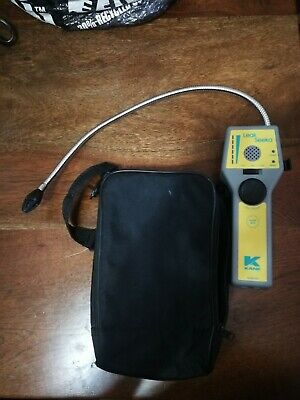 Kane Leak Seeka Gas Precision Combustible Detector gooseneck probe Audio