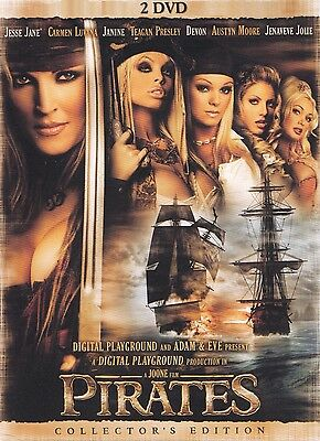 Pirates - Jesse Jane, Carmen Luvana , Janine All Reg  Sealed Uncut Double Dvd