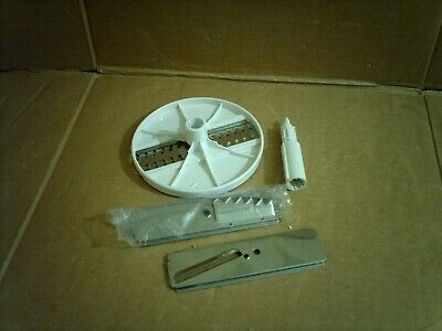 vintage moulinex masterchef 360, chopping & grating discs & disc carrier only
