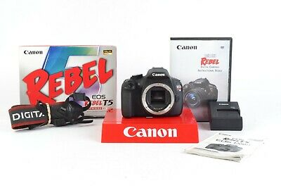 Canon EOS Rebel T5 18.0 MP Digital SLR Camera (Body Only) SC: 51,146 -  #C29588