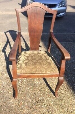 Antique / vintage fireside chair