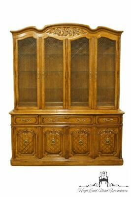 """THOMASVILLE FURNITURE Camille Collection Country French 72"""" Buffet w. Lighted..."""